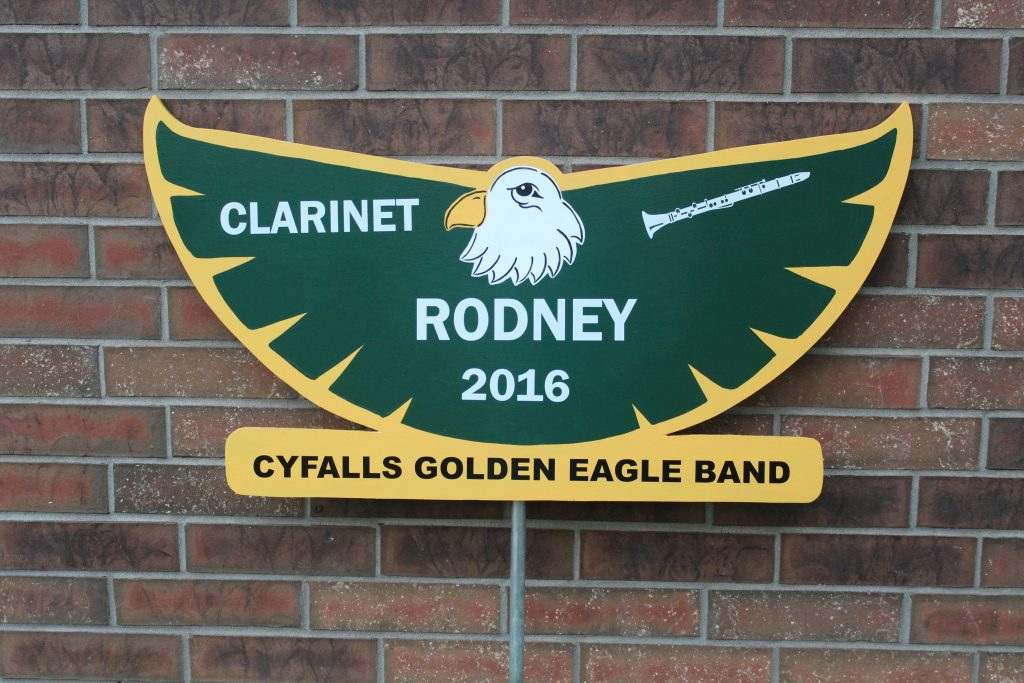 Eagle School Spirit Sign