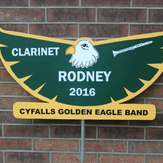Eagle School Spirit Sign