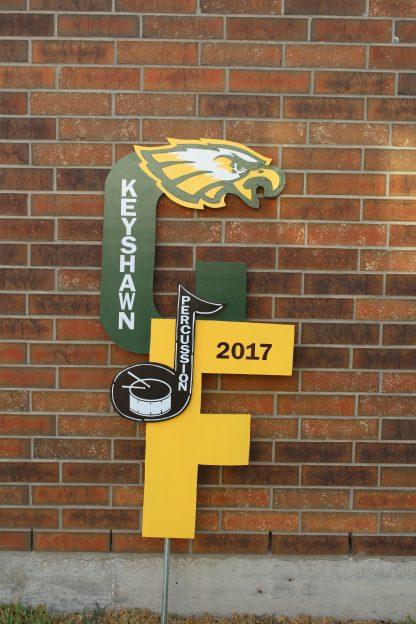 CF School Spirit Sign